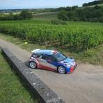 Entrainement des WRC Citroën (Rallye d'Alsace 2013)