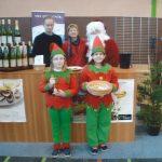 Le Père Noël et ses lutins en visite sur notre stand